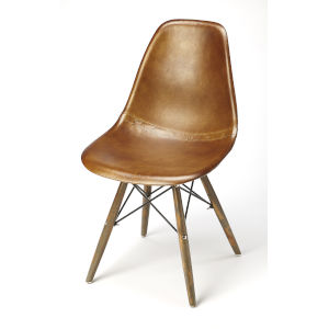 Brown 32-Inch Side Chairs