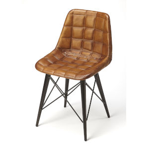 Brown 31-Inch Side Chairs