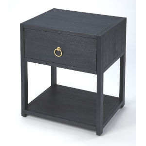 Blue 26-Inch Accent End Tables