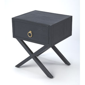 Blue 22-Inch Accent End Tables
