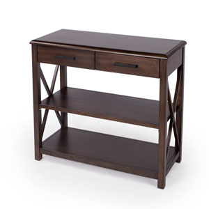 Adrik Dark Brown Console Table
