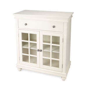 Brouno White 38-Inch Rectangular Chest