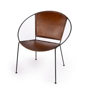 Accent Seating Milo Brown Accent Chair