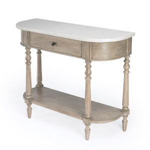 Masterpiece Danielle Light Brown Console Table