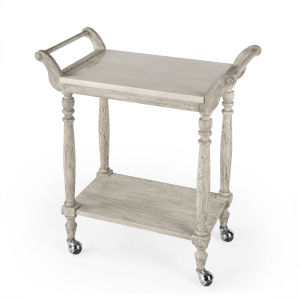 Masterpiece Danielle Gray Serving Cart