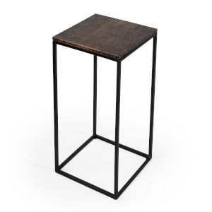 Metalworks Lacrossa Bronze End Table