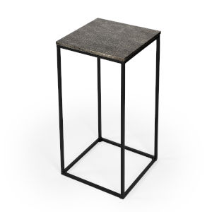 Metalworks Lacrossa Silver End Table