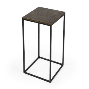 Metalworks Lacrossa Antique Gold End Table