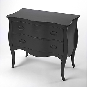 Masterpiece Rochelle Black Drawer Chest