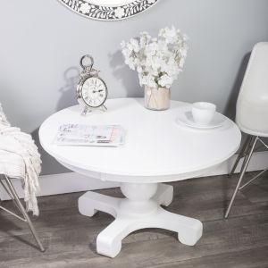 Millard Cottage White 36-Inch Round Cocktail Table