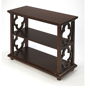 Masterpiece Paloma Plantation Cherry Bookcase
