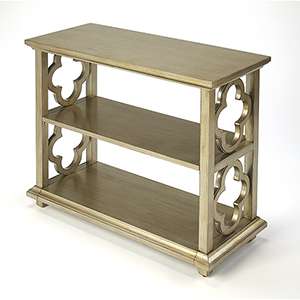 Masterpiece Silver Leaf Paloma Bookcase