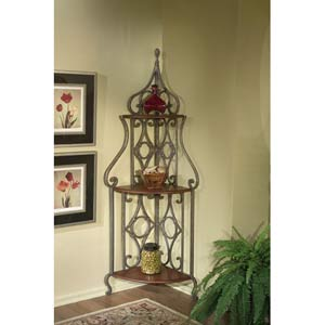 Metalworks Corner Bakers Rack