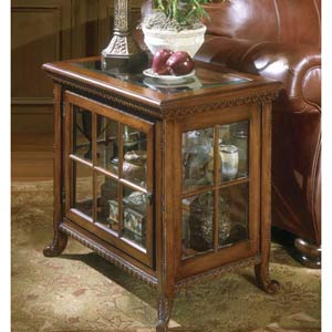 Plantation Cherry Side Chair Curio
