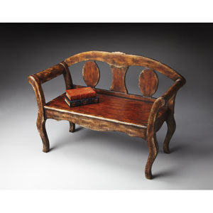 Artists Originals Tobacco Leaf Bench
