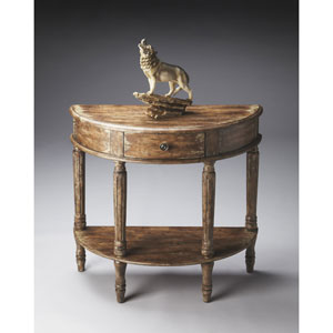 River Walk Demilune Console Table