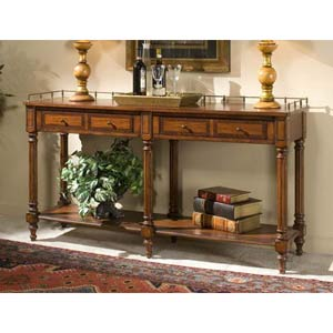 Plantation Cherry Sofa/Console Table