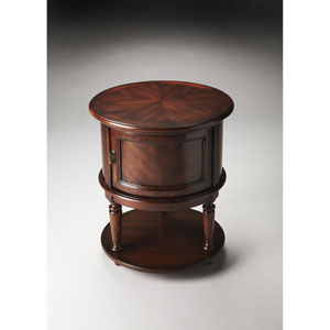 Coffield Cherry Drum Table
