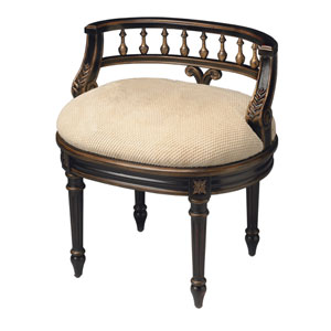 Artists Originals Café Noir Vanity Seat