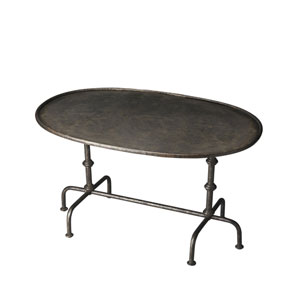 Metalworks Oval Cocktail Table