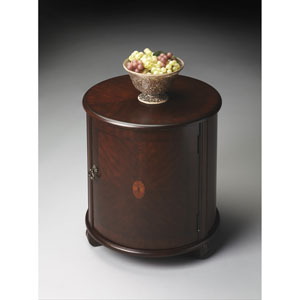 Plantation Cherry Drum Table