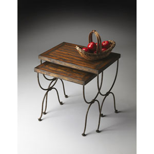 Mountain Lodge Nesting Tables
