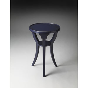 Butler Loft Blue Round Accent Table