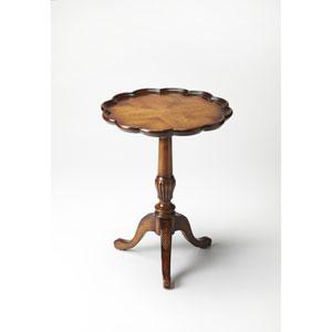 Dansby Vintage Oak Pedestal Table