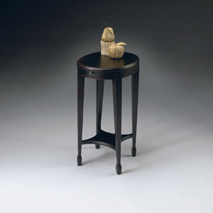 Artists Originals Plum Black Accent Table