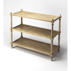 Rothwell Driftwood 3-Tier Console Table