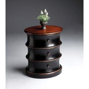 Artists Originals Café Noir Oval Drum Table