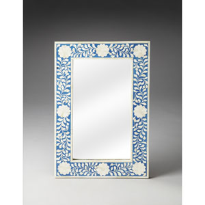 Heritage Blue Bone Inlay Wall Mirror