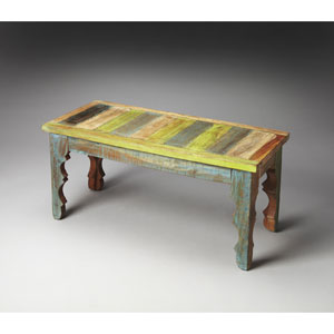 Artifacts Recycled Wood Rao Bench