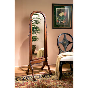 Plantation Cherry Cheval Mirror