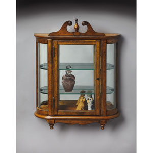 Masterpiece Vintage Oak Wall Curio