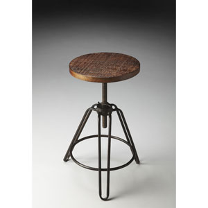 Metalworks Three-Legged Revolving Bar Stool