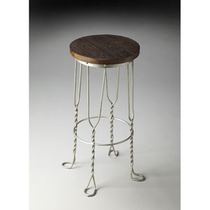 Metalworks Recycled Wood Solids Bar Stool