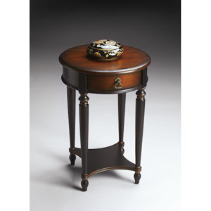 Cafe Noir Single-Drawer Accent Table