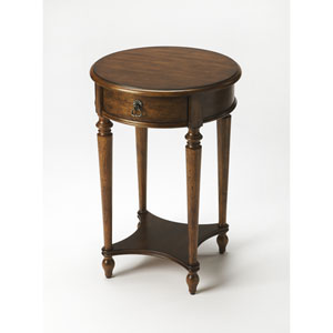 Jules Dark Toffee Accent Table