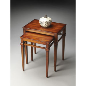 Butler Loft Antique Cherry Nest of Tables