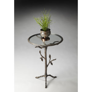 Metalworks Simulated Tree Trunk Accent Table