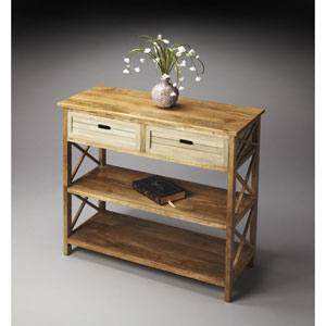 Modern Expressions Mango Wood Console Table
