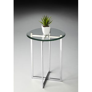Butler Loft 21.25-Inch Nickel Accent Table