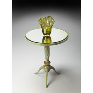 Metalworks Daffodils Accent Table