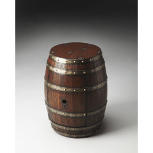 Mountain Lodge 20.88-Inch Barrel Table