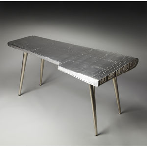 Metalworks Aluminum and Rivets Desk