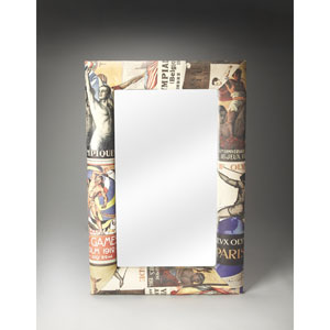 Artifacts Upholstered Wall Mirror