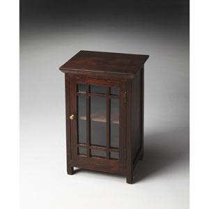 Artifacts Nine-Panel Glass Door Chair Side Table