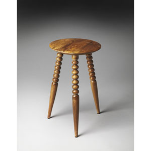 Artifacts Rounded-Top Imbue Accent Table