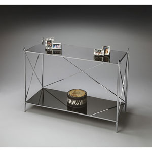 Nickel Console Table